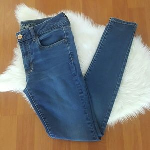 American Eagle super super stretch jegging jeans 8
